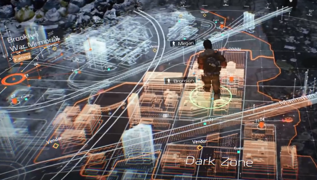 """Excerpt from the game """"Tom Clancy's The Division"""""""